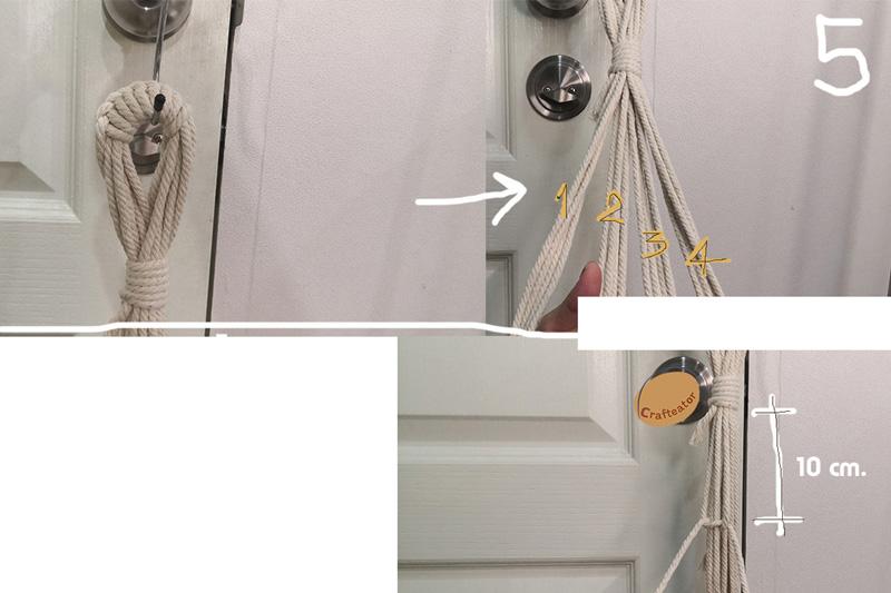 วิธีถักมาคราเม่ DIY เชือกแขวนกระถางต้นไม้ทำเอง